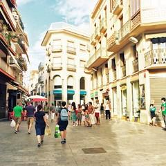 Cap de la Vila la piazza centrale di Sitges
