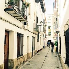 Carrer Barcelona a Sitges
