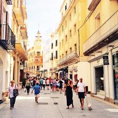 Carrer de les Parellades a Sitges