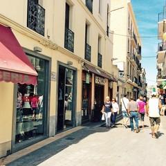 Carrer de San Francesc a Sitges
