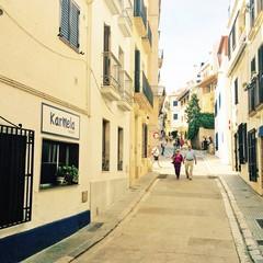Carrer Port Alegre a Sitges