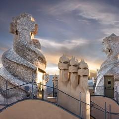 Casa Mila o La Pedrera a Barcellona