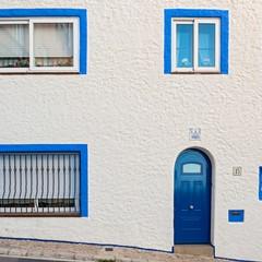 Case bianche del centro di Sitges