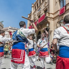 Festa Major a Sitges Ballo dei bastoni