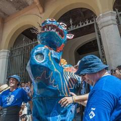 Festa Major a Sitges El Drac