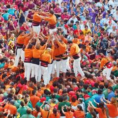 I castells le torri umane di Tarragona