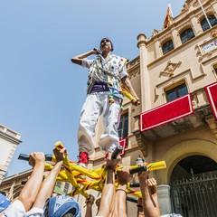 Il ballo dei pastori durante Fiesta Major a Sitges