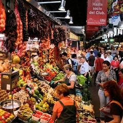 Mercato de La Boqueria a Barcellona