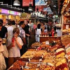 Mercato La Boqueria a Barcellona