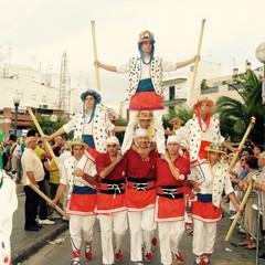 Moixiganga durante la Festa Major a Sitges