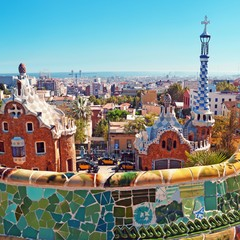 Park Guell a Barcellona