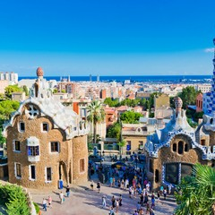 Park Guell in Barcelona Barcellona