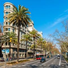 Passeig de Gracia a Barcellona
