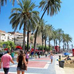 Passeig de la Ribera a Sitges