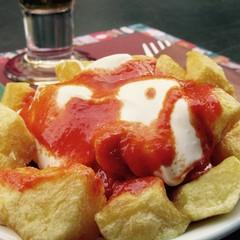 Patate Bravas a Sitges