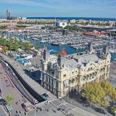 Piazza di Colombo a Barcellona