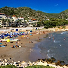 Playa de Aiguadol a Sitges