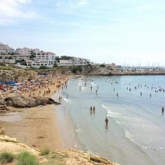 Playa de Balmins a Sitges
