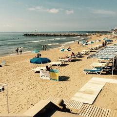 Playa de lEstanyol a Sitges