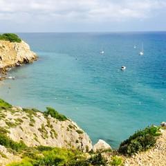 Playa de lhomme mort spiaggia del morto a Sitges