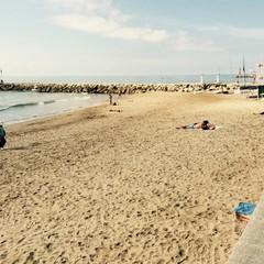 Playa de La Bassa Rodona a Sitges