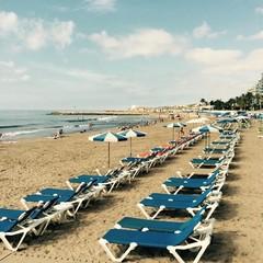 Playa de La Ribera a Sitges