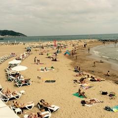 Playa de Terramar a Sitges