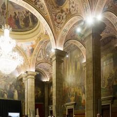 Sala di San Jorge nel palazzo della Generalitat de Catalunya a Barcellona