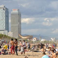 Spiaggia Barceloneta a Barcellona