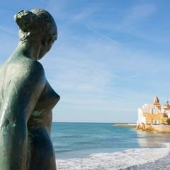 Statua a Sitges