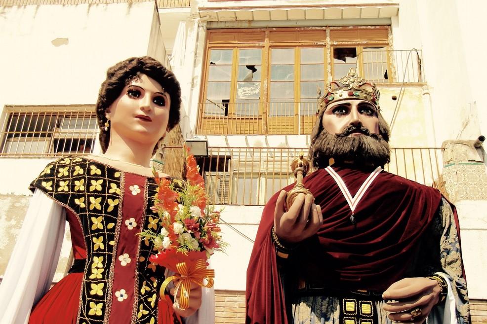 I Giganti Festa Major a Sitges