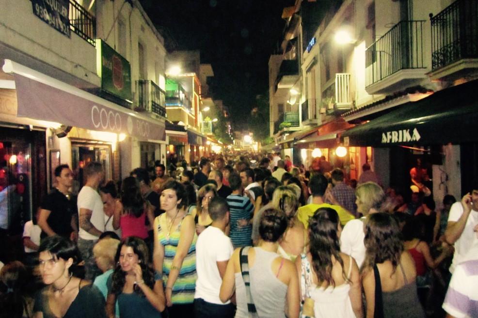 Strada del Peccato a Sitges